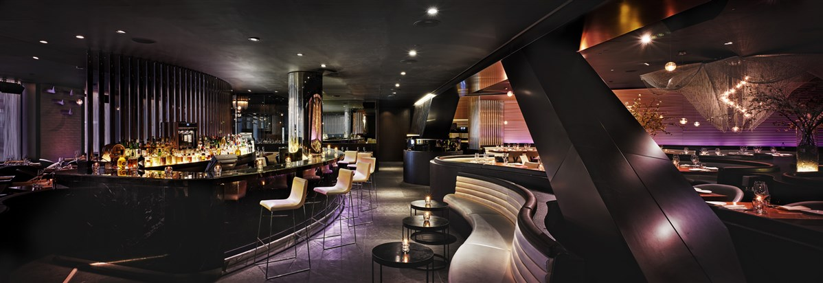 ME London Hotel  STK London Bar Panoram